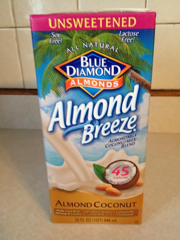 Blue diamond almond coconut milk